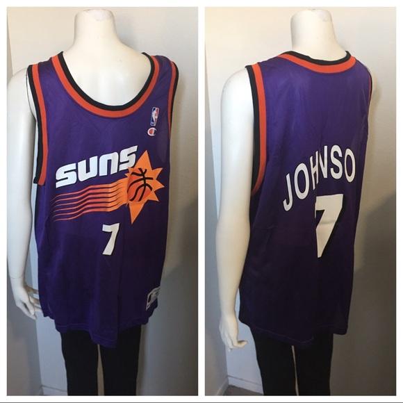b7aeda5a547 Champion Shirts | Vintage Throwback Phoenix Suns Kj Jersey | Poshmark